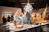 Een kunstwerk uit de Trouble in Paradise serie in de Kunsthal in Rotterdam