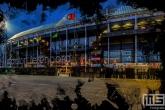 Te Koop | De voorkant van het Feyenoord Art Stadion De Kuip in Rotterdam tijdens een speelavond