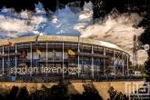 Te Koop | Het Feyenoord Art Stadion De Kuip in Rotterdam in kleur zwart