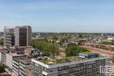 Het natuurdak van Dakakkers op het Schieblock in Rotterdam-Centrum