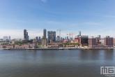 Het uitzicht op Katendrecht in Rotterdam met de Fenix Lofts