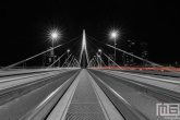 De Erasmusbrug in Rotterdam by Night