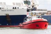 De P&O Ferries Pride of Rotterdam en Union 7 tijdens de Wereldhavendagen 2019 in Rotterdam
