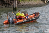 De reddingsbrigade tijdens de Wereldhavendagen 2019 in Rotterdam