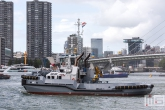 De sleepboot Noordzee tijdens de Wereldhavendagen 2019 in Rotterdam