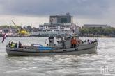 Het schip Saeftinghe tijdens de Wereldhavendagen 2019 in Rotterdam