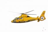 De SAR Helikopter tijdens de Wereldhavendagen 2019 in Rotterdam
