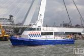 Het schip P1 van de Zeehavenpolitie tijdens de Wereldhavendagen 2019 in Rotterdam