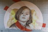 Een mural tijdens het Pow! Wow! Festval in de Afrikaanderwijk in Rotterdam