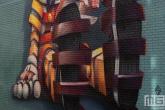 Een Pinokkio Mural door Super A voor het Pow! Wow! Festval in de Afrikaanderwijk in Rotterdam