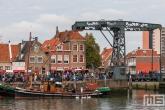 Het nautische festijn de Furieade in Maassluis 2019 met het schip Bugsier5 uit Den Briel