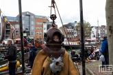 Een duiker op het nautische festijn de Furieade in Maassluis 2019