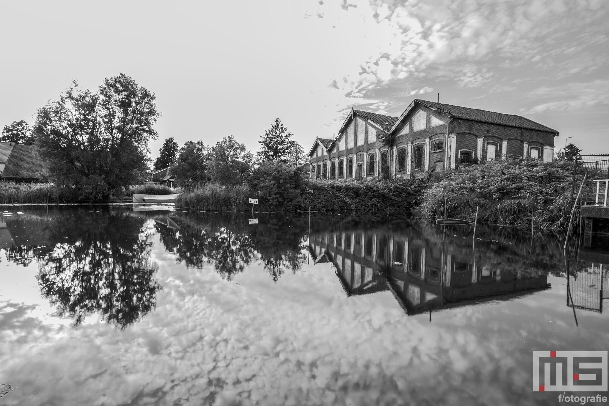 Het afgebroken stoomgemaal 't Hooft van Benthuizen in Puttershoek