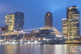 Te Koop | Het cruiseschip MSC Grandiosa aan de Cruise Terminal in Rotterdam