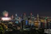 Het Nationale Vuurwerk 2020 in Rotterdam By Night