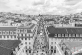 Te Koop | De winkelstraat Rua Augusta in Lissabon in Portugal