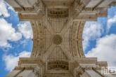 Te Koop | De triomfboog Arco da Rua Augusta in Lissabon in Portugal