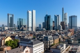 Te Koop | De skyline van Frankfurt by Day
