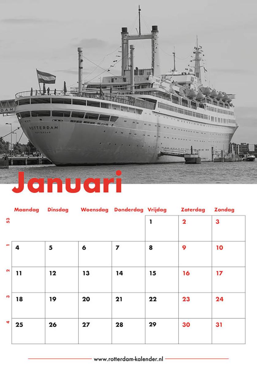 Te Koop | Het cruiseschip ss Rotterdam in Rotterdam Katendrecht