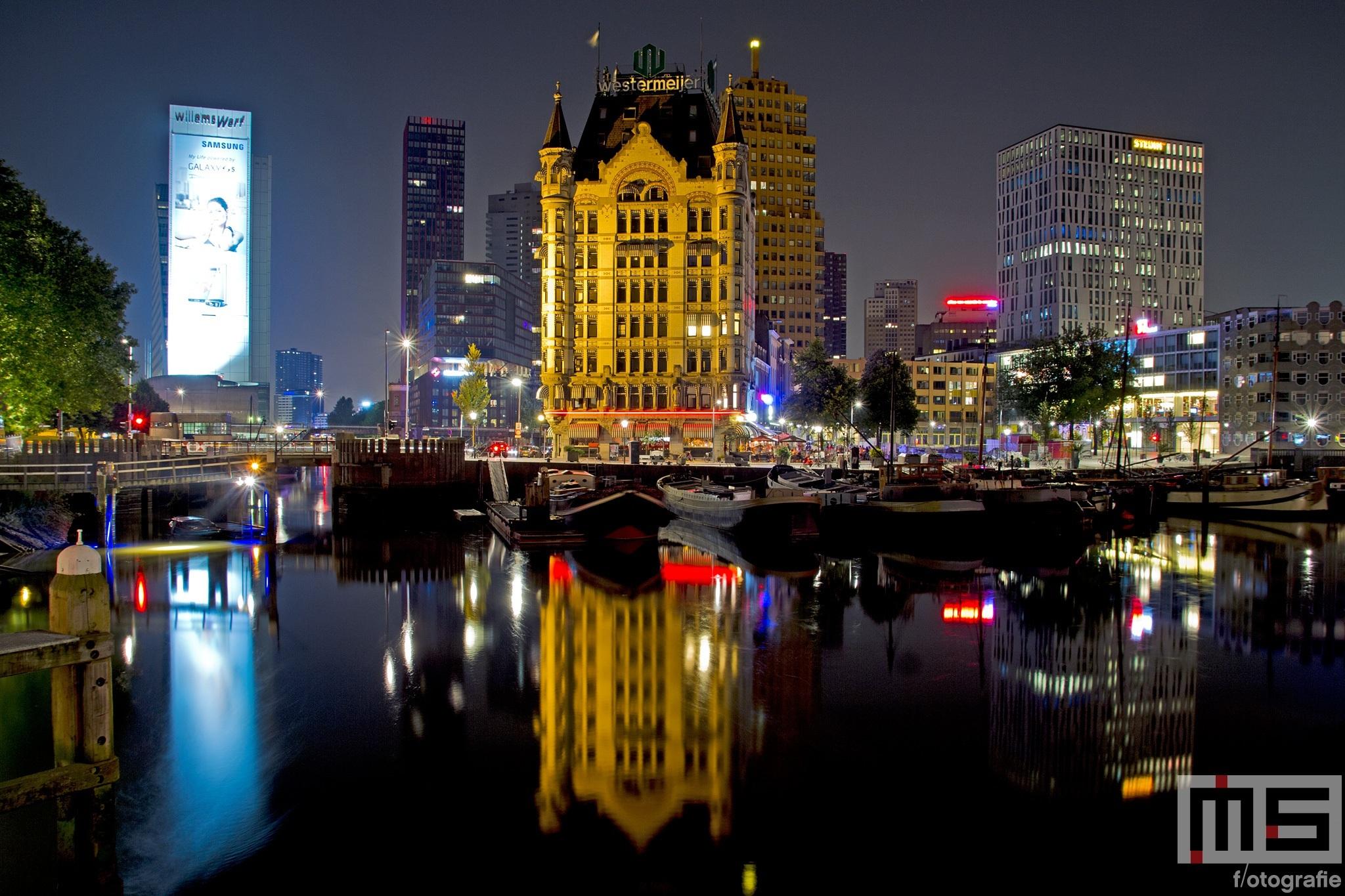 De Oudehaven en het Witte Huis in Rotterdam-Centrum