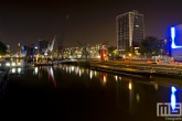 Het Maritiem Museum in de Leuvehaven in Rotterdam by Night