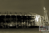 Het Feyenoord Stadion De Kuip in Rotterdam by Night
