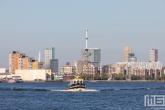 De Haven van Rotterdam vanuit Schiedam met de RVE6