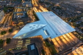 Te Koop | Het Centraal Station in Rotterdam Centrum in de nachtelijke uren