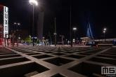 Het Wilhelminaplein met het Luxor Theater in Rotterdam