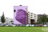 Het Pow! Wow! Rotterdam 2020 Festival met kunstenaar Bij de Vleet