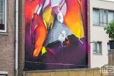 Het Pow! Wow! Rotterdam 2020 Festival met kunstenaar Does