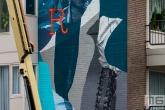 Het Pow! Wow! Rotterdam 2020 Festival met kunstenaar Joram Roukes