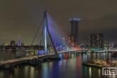 De Erasmusbrug in het stadscentrum van Rotterdam in Rood Wit Blauw-rood-wit-blauw-stadscentrum-rotterdam-24034-4