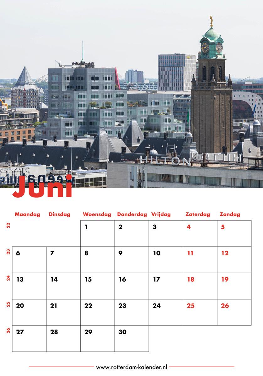 Te Koop | Het uitzicht op de binnenstad van Rotterdam met diverse bekende gebouwen
