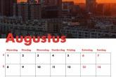Te Koop | De zonsondergang met de Delftse Poort en Hofpoort in Rotterdam
