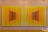 De Art Rotterdam Week 2021 in Rotterdam met een doek van kunstenaar Daniel Mullen