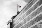 Het hoofdgebouw van de Van Nelle Fabriek (UNESCO) in Rotterdam Delfshaven
