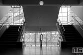 het trappenhuis in de Van Nelle Fabriek (UNESCO) in Rotterdam Delfshaven