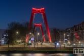 Te Koop   De Willemsbrug in Rotterdam by Night