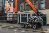 Het Pow! Wow! Rotterdam 2021 in Rotterdam Feijenoord door Anna T-Iron