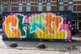 Het Pow! Wow! Rotterdam 2021 in Rotterdam Feijenoord door Chan
