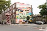 Het Pow! Wow! Rotterdam 2021 in Rotterdam Feijenoord door Helen Proctor