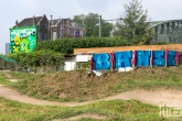 Het Pow! Wow! Rotterdam 2021 in Rotterdam Feijenoord door Ox Alien en Banse