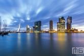 Te Koop | De skyline van Rotterdam vanuit de Veerhaven
