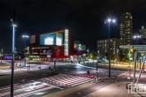 De Wilhelminaplein in Rotterdam met het Luxor Theater