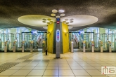 Te Koop | Het treinstation Blaak in Rotterdam by Night