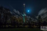 Te Koop | De Euromast vanuit Het Park in Rotterdam by Night