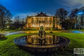 Te Koop | Het oude Parkzicht in Het Park in Rotterdam tijdens de avond