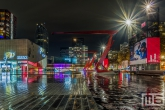 Te Koop | Het Schouwburgplein in Rotterdam met de Kracht van Rotterdam billboards