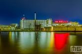 Te Koop | De Van Nelle Fabriek tijdens blue hour in Rotterdam Delfshaven